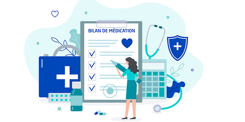 Bilan de médication dans la prise en charge pharmaceutique globale du patient - Nathalie CALOP (ACTION DPC)